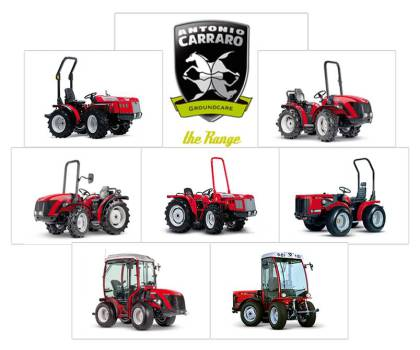 Antonio Carraro Traktoren