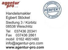 agentur pro - Handelsmakler Egbert Stöckel